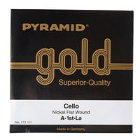 Pyramid : Gold Cello String A