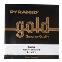 Pyramid : Gold Cello String A