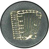 MusikBoutique : Magnet with Design Accordeon