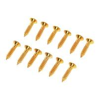 Harley Benton : Parts Pickguard Screws Gold