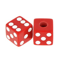 Allparts : Dice Knobs Red