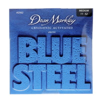 Dean Markley : 2562 MED Blue Steel 11 - 52