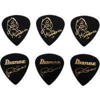 Ibanez : Paul Gilbert Pick Set BK - 6P