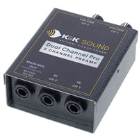 KandK : Dual Channel Pro Preamp