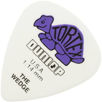 Dunlop : Plektren Tortex Wedge 1,14(12)