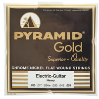 Pyramid : Gold Flatwound 412100
