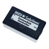 MIDI Solutions : Footswitch To MIDI Controller