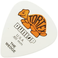 Dunlop : Plectrums Tortex Wedge 0,60