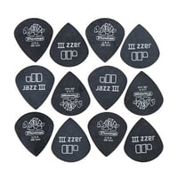 Dunlop : Tortex Black Jazz 88