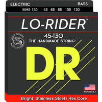 DR Strings : Lo Rider MH5-130 Stainless