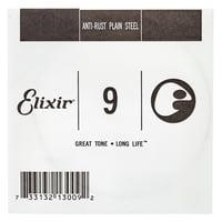 Elixir : .009 Plain Steel Single String