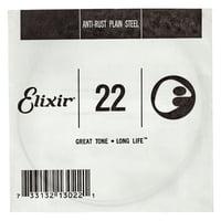 Elixir : .022 Plain Steel