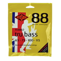 Rotosound : RS88LD Black Nylon