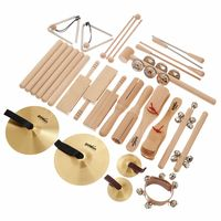 Goldon : Percussion Set 4 in Wood Box