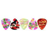 Harley Benton : Guitar Pick Thin 5 Pack