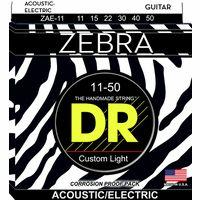 DR Strings : Zebra A/E Medium Lite Set