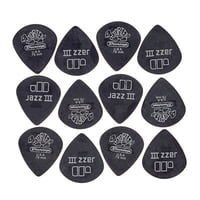 Dunlop : Tortex Pitchblack Jazz 73 12P