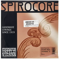 Thomastik : Spirocore D Bass 1/4 medium