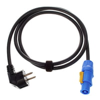 Cordial : Power Twist Cable 1,5m Angled