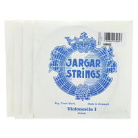 Jargar : Cello Strings Silver Medium