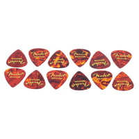 Fender : Classic Celluloid Pick Shell M