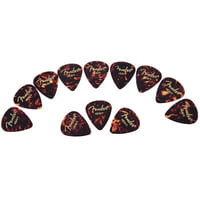 Fender : Classic Celluloid Pick Shell H