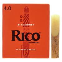 DAddario Woodwinds : Rico Bb- Clarinet 4 Boehm