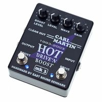 Carl Martin : Hot Drive\'n Boost MK3