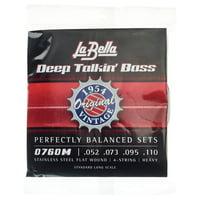 La Bella : 0760M Deep Talkin Bass