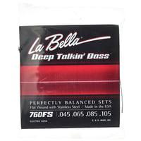 La Bella : 760FS Deep Talkin Bass