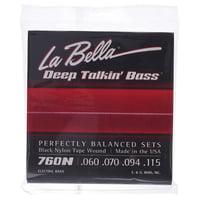 La Bella : 760N Black Nylon Tape