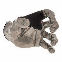 Guitar Grip : Silver Metallic Male Hand left