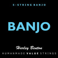 Harley Benton : Valuestrings 5-String Banjo