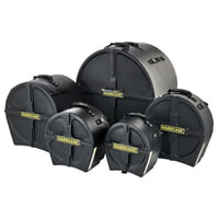 Hardcase : Drum Case Set HRockFus2