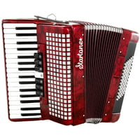 Startone : Piano Accordion 72 Red