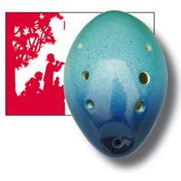 Thomann : Ocarina 7H G Contrab. Shell BB
