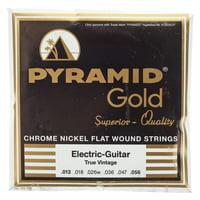 Pyramid : Gold True Vintage Flatwound