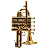 Schilke : P 7-4 GP A/Bb Piccolo Gold