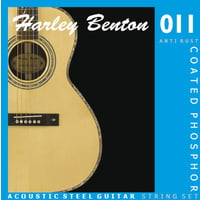 Harley Benton : Coated Phosphor 011 Anti Rust