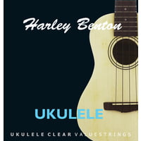 Harley Benton : Valuestrings Ukulele Clear