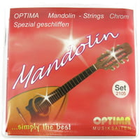 Optima : Mandolin Strings Chrome-Nickel