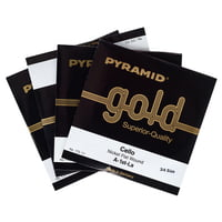 Pyramid : Gold Cello String 3/4