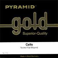 Pyramid : Gold Cello String 1/4
