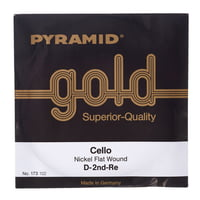 Pyramid : Gold Cello String D