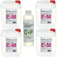Stairville : E-M Fluid Bundle 4x 5l