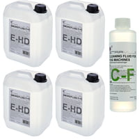 Stairville : E-HD Fluid 4x 5l Bundle