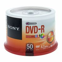 Sony : DMR47 DVD-R Ink Spindle 50pcs