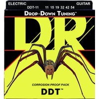 DR Strings : DDT-11 Roundwound Strings Set