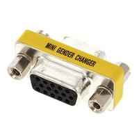 Sommer Cable : Gender Changer Sub-D 15pol f-f