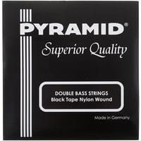 Pyramid : Black Tape Nylon Double Bass S